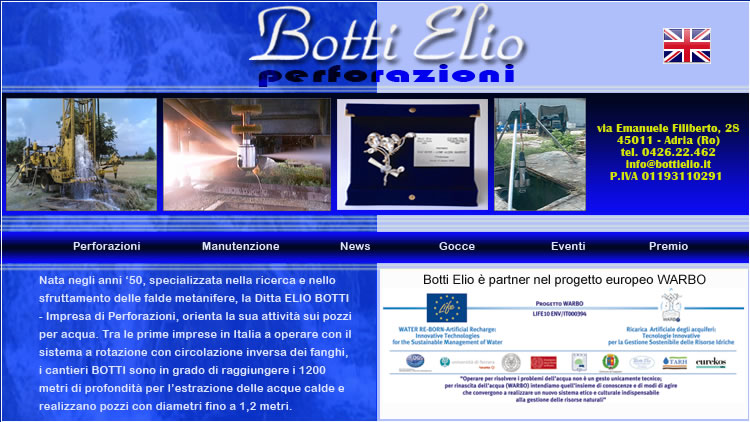 Home Page Botti Elio